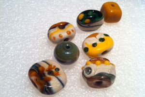 Some old beads revisited!